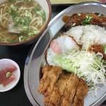 那覇【高良食堂のおすすめメニュー!Aランチを食べてみた】色々すごいw